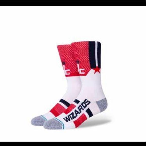 Stance Washington Wizards Socks - NWT